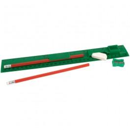 Σετ μολύβι, χάρακα, γόμα, ξύστρα,00638 ΣΤΥΛΟ
