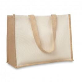 Τσάντα αγορών απο γιούτα - καμβά - 8967  Shopping bags (cotton & non wooven)
