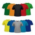 T Shirt  Κοντόμάνικο 100% βαμβακερό - 0150
